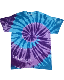Adult 5.4 Oz., 100% Cotton Islands Tie-Dyed T-Shirt-Tie-Dye