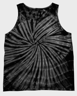 Adult 5.4 Oz. 100% Cotton Tank Top-Tie-Dye