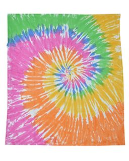 Throw Blanket-Tie-Dye