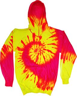 Adult Fluorescent Pullover Hoodie-