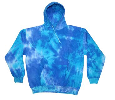 Adult Tie-Dyed Pullover Hooded Sweatshirt-