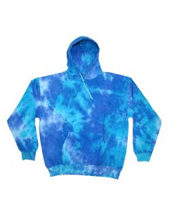 Youth 8.5 Oz. Tie-Dyed Pullover Hooded Sweatshirt-