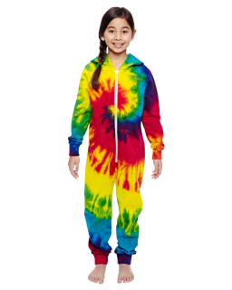 Youth All-In-One Loungewear-Tie-Dye