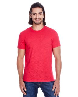 Mens Slub Jersey Short-Sleeve T-Shirt-Threadfast Apparel