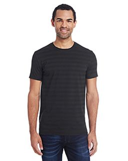 Mens Invisible Stripe Short-Sleeve T-Shirt-
