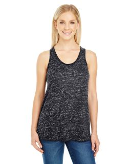 Ladies Blizzard Jersey Racer Tank-Threadfast Apparel