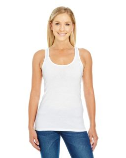 Ladies Spandex Performance Racer Tank-Threadfast Apparel