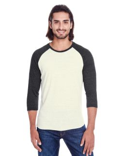Unisex Triblend 3/4-Sleeve Raglan-Threadfast Apparel