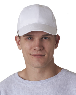 Adult Classic Cut Brushed Cotton Twill Structured Cap