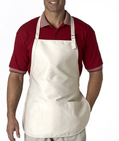 Three-Pocket Apron With Buckle