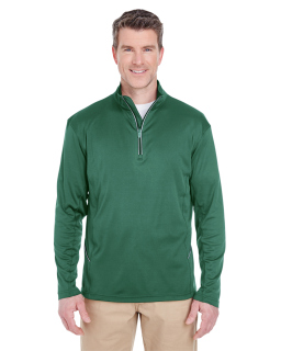Mens Cool & Dry Sport Quarter-Zip Pullover-