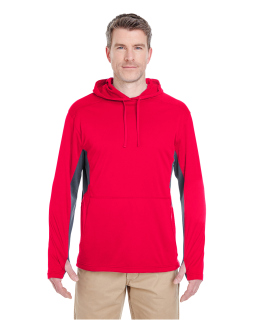 Adult Cool & Dry Sport hooded Pullover-UltraClub