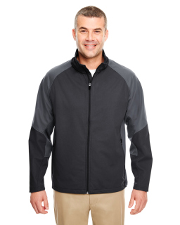 Adult Two-Tone Soft Shell Jacket-