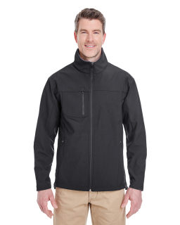 Adult Ripstop Soft Shell Jacket With Cadet Collar-