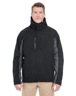 Adult Colorblock 3-In-1 Systems Hooded Soft Shell Jacket-