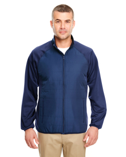 Adult Cool & Dry Quilted Front Full-Zip Lightweight Jacket-