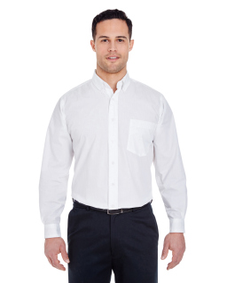 Mens Easy-Care Broadcloth-