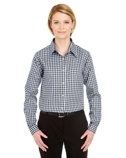 Ladies Medium-Check Woven-