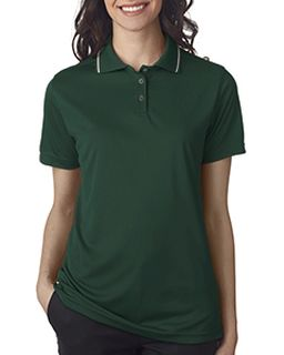 Ladies Cool & Dry Sport Polo With Tipped Collar-