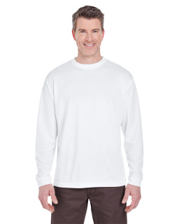 Adult Cool & Dry Sport Long-Sleeve T-Shirt-UltraClub