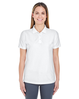 Ladies Cool & Dry Elite Tonal Stripe Performance Polo-UltraClub