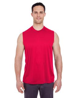 Adult Cool & Dry Sport Performance Interlock Sleeveless T-Shirt-