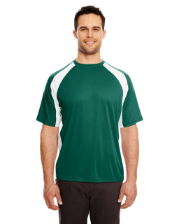 Adult Cool & Dry Sport Two-Tone Performance Interlock T-Shirt-