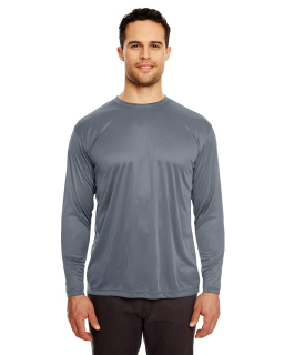 Adult Cool & Dry Sport Long-Sleeve Performance Interlock T-Shirt-
