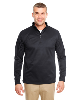 Adult Cool & Dry Sport Quarter-Zip Pullover Fleece-UltraClub