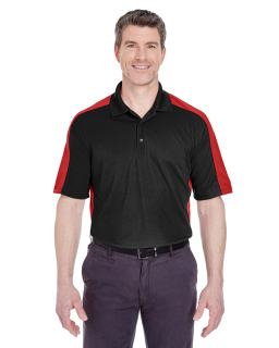 Adult Cool & Dry Stain-Release Two-Tone Performance Polo-