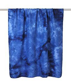 Tie-Dye Fleece Blanket