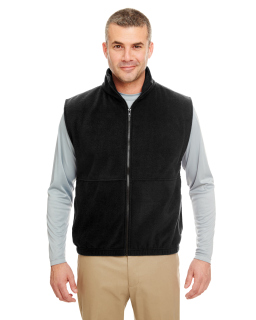 Adult Iceberg Fleece Full-Zip Vest-UltraClub