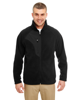 Mens Microfleece Full-Zip Jacket-
