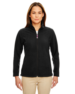 Ladies Microfleece Full-Zip Jacket-