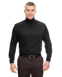 Adult Egyptian Interlock Long-Sleeve Turtleneck-UltraClub