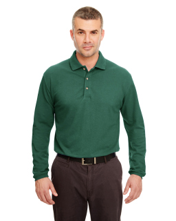 Adult Long-Sleeve Classic Pique Polo-