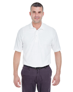 Mens Whisper Pique Polo-