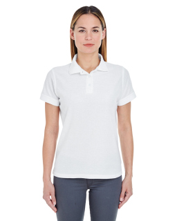 Ladies Basic Blended Pique Polo-