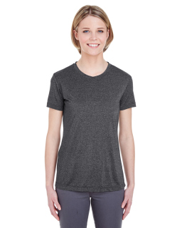 Ladies Cool & Dry Heathered Performance T-Shirt-