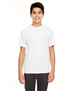 Youth Cool & Dry Basic Performance T-Shirt-UltraClub
