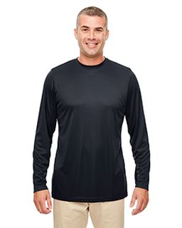 Mens Cool & Dry Performance Long-Sleeve Top-UltraClub