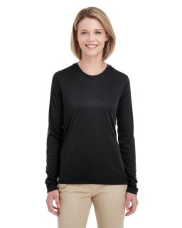 Ladies Cool & Dry Performance Long-Sleeve Top-UltraClub