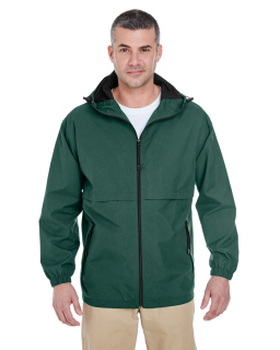 Adult Microfiber Full-Zip Hooded Jacket-