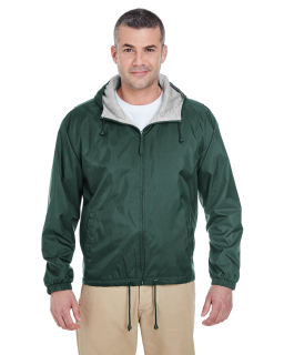 Adult Fleece-Lined Hooded jacket-UltraClub