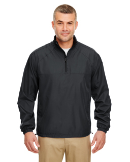 Adult Micro-Poly Quarter-Zip Wind Shirt-