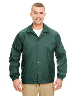 Adult Nylon Coaches Jacket-UltraClub