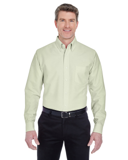 Mens Classic Wrinkle-Resistant Long-Sleeve Oxford-
