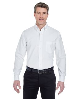 Mens Tall Classic Wrinkle-Resistant Long-Sleeve Oxford-