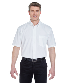 Adult Short-Sleeve Whisper Twill-UltraClub