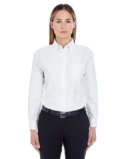 Ladies Classic Wrinkle-Resistant Long-Sleeve Oxford-